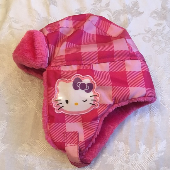 9b0f8fd1c Sanrio Accessories | Hello Kitty Girls Winter Hat | Poshmark